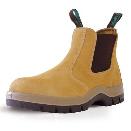 Cheap work boots bata Mercury_Wheat A