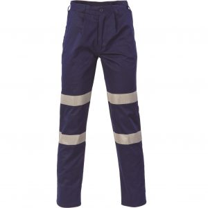 DNC 3354 Middle Weight 2 Hoop Taped Navy PantsCheap Work Boots DNC 3354 Hi-Vis Pants Navy