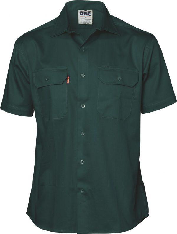 Cheap Work Boots DNC Shirt 3208 Green