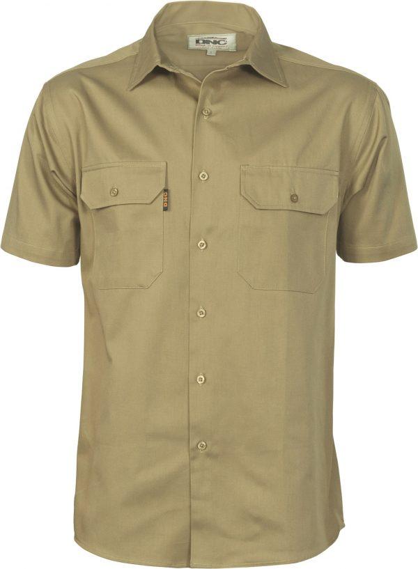 Cheap Work Boots DNC Shirt 3208 Khaki