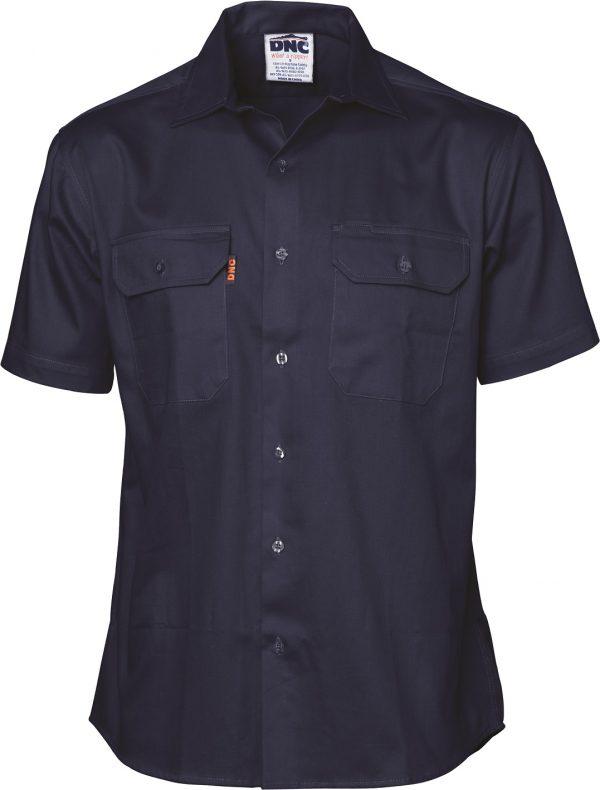 Cheap Work Boots DNC Shirt 3208 Navy