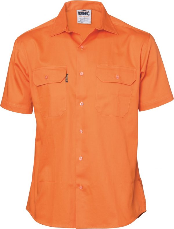 Cheap Work Boots DNC Shirt 3208 Orange