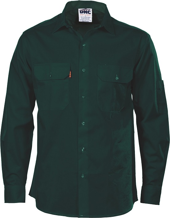 Cheap Work Boots DNC Shirt 3208 Green