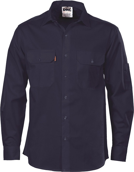 Cheap Work Boots DNC Shirt 3208 Navy