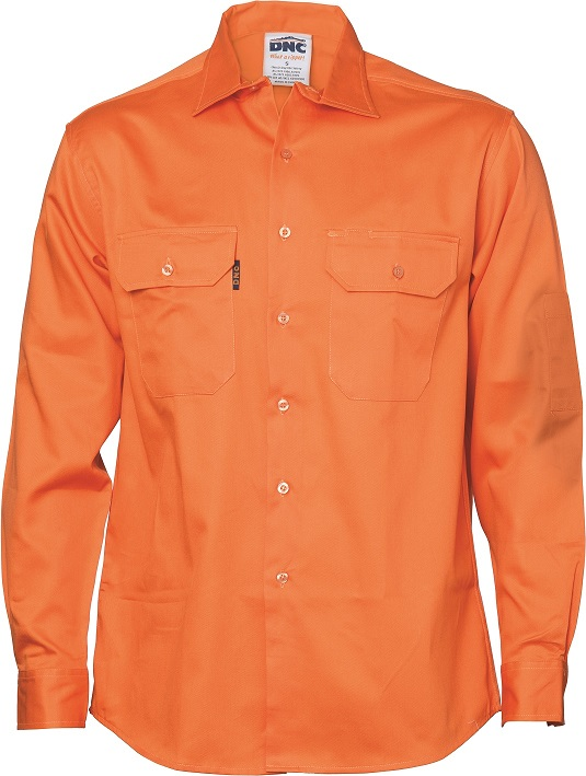 Cheap Work Boots DNC Shirt 3208 Orange