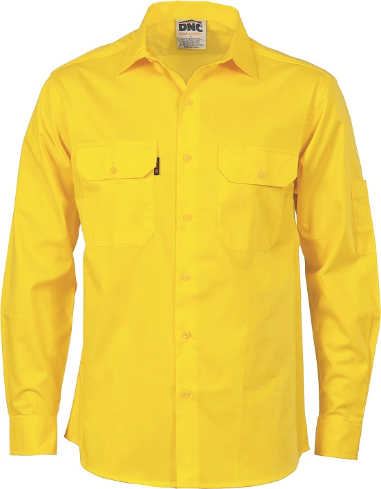 Cheap Work Boots DNC Shirt 3208 Yellow