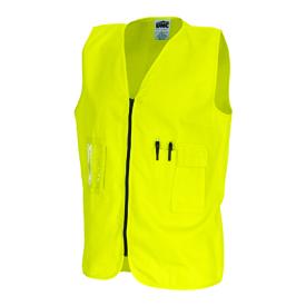 cheap work boots DNC Zip Vest 3808 yellow