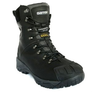 Gator GP2404 Polar Cool Room/Freezer Black Safety BootCheap Work Boots Gator Polar GP2404