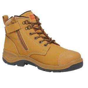 cheap work boots hard yakka mercury Y60180 Wheat