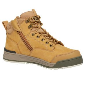 Hard Yakka Y60200 3056 Zip Side Safety Bootcheap work boots hard yakka Y60200-wheat