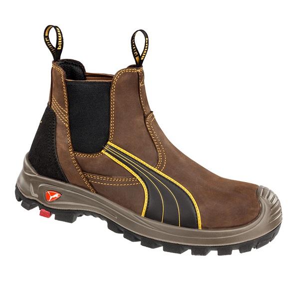 cheap work boots puma 630267 tanami brown