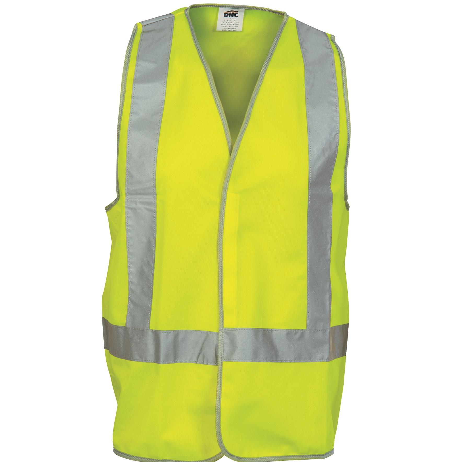cheap work boots Vest DNC 3804 yellow