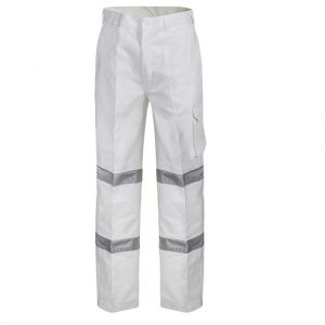Workcraft WP3223 Cargo Pants 3M Tape - Night Usecheap work boots workcraft WP3223_WHT_front