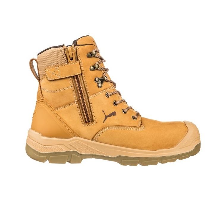 cheap work boots puma 630727-Conquest Wheat 2 3