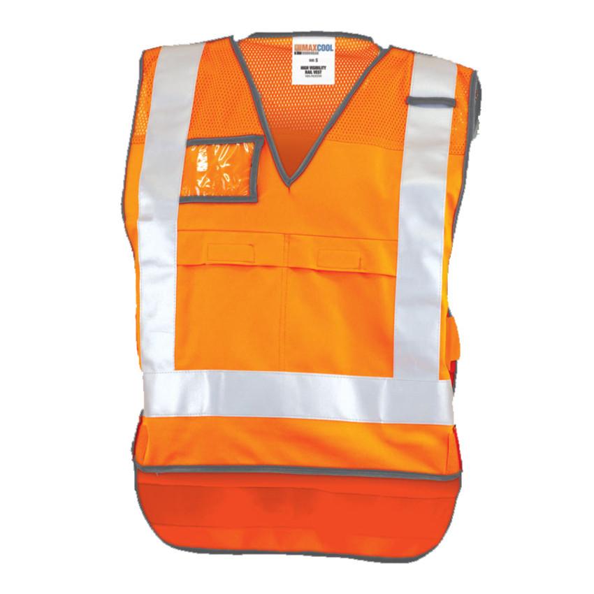 Maxcool RLVNTPXOR NSW X-Back Rail Vest front