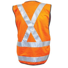 Maxcool RLVNTPXOR NSW X-Back Rail Vest back