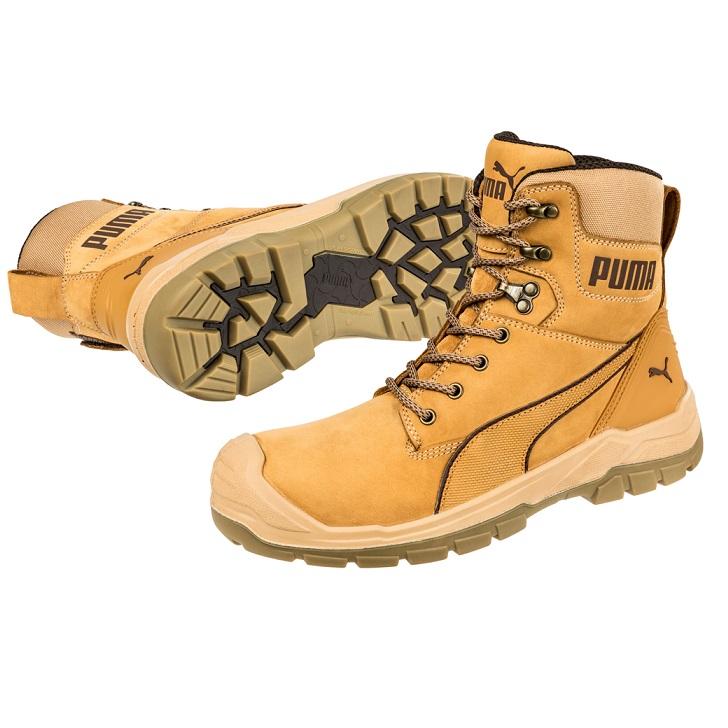 cheap work boots puma 630727-Conquest Wheat 1