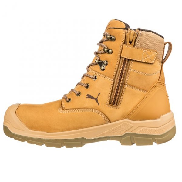 cheap work boots puma 630727-Conquest Wheat 1