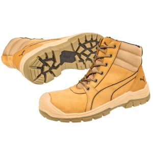 Puma 630787 Tornado Wheat Zip Side Safety BootPuma 630787 Tornado Wheat Zip Side Safety Boot