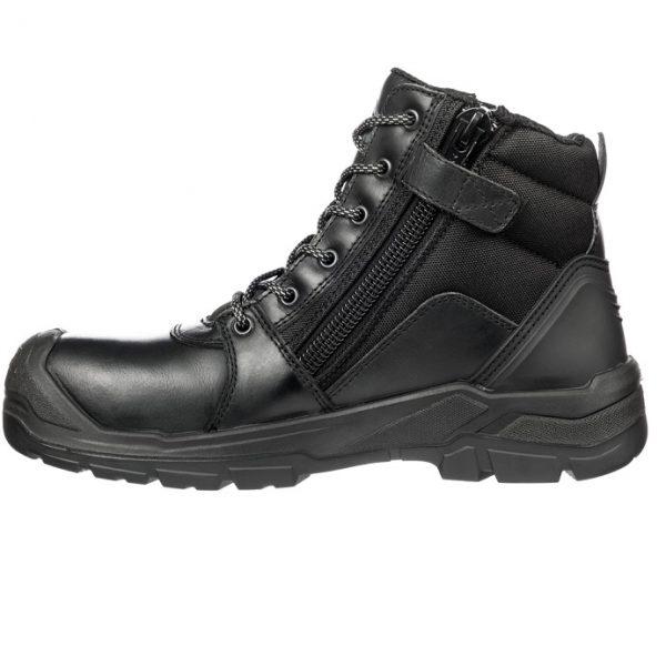 cheap work boots puma 630797-Tornado Black 2