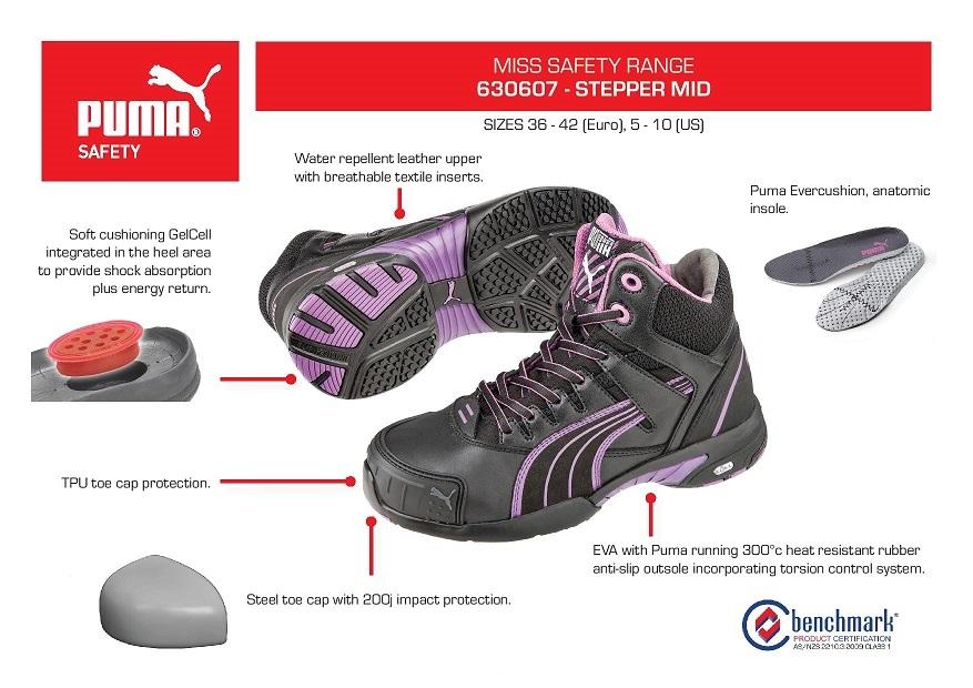 Puma 630607 Stepper Mid Ladies Safety Jogger d5d072334
