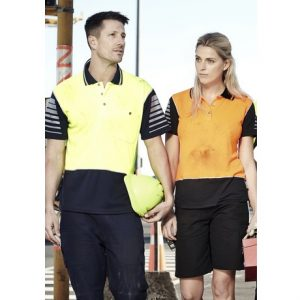 Syzmik ZHL236 Ladies Hi Vis Zone Polo