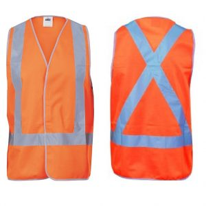 DNC 3805 Day/Night X-Back Safety VestsCheap Work Boots DNC 3805 X-Back Vest