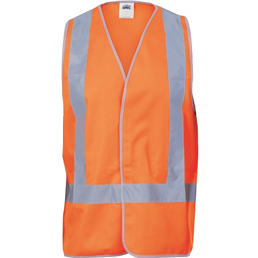 Cheap Work Boots DNC 3805 X-Back Vest Orange