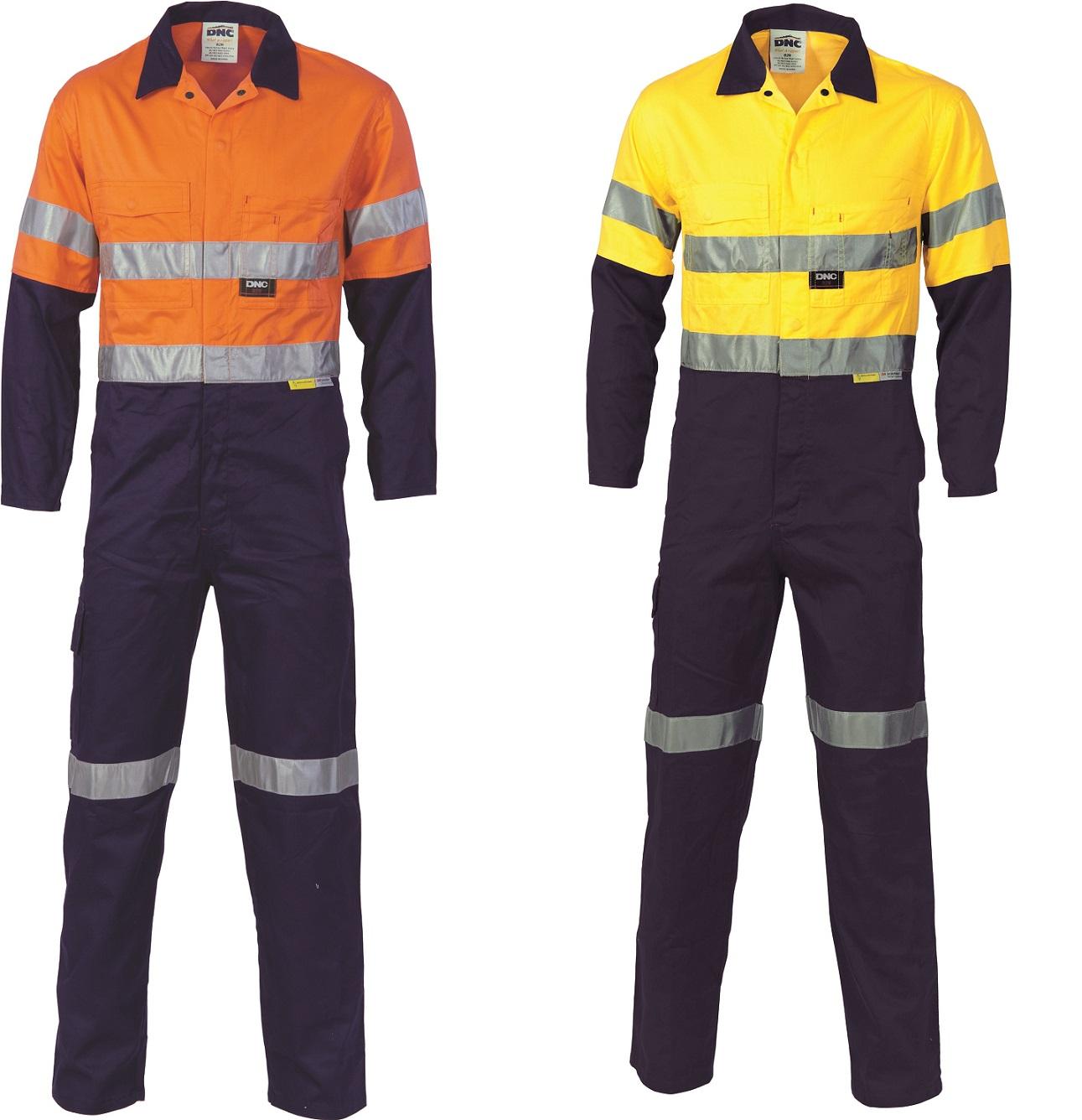 Cheap Work Boots DNC 3955 Hi-Vis Overalls