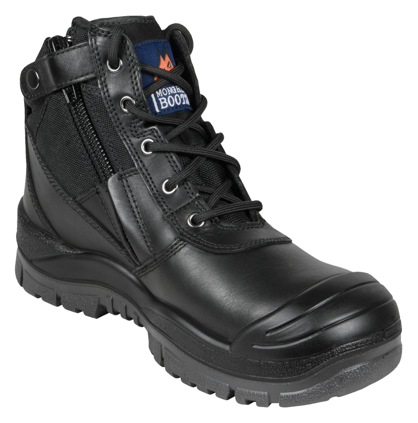 cf575a8daaf Mongrel 461020 Zip Side Safety Boot With Scuff Black