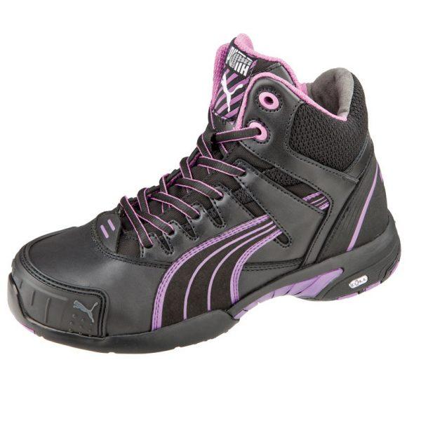Cheap Work Boots Puma Stepper Mid 630607 1