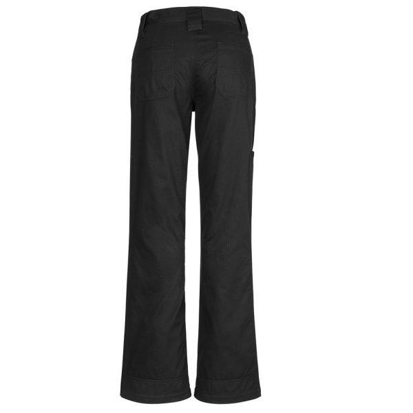 Cheap Work Boots Syzmik Ladies Pants ZWL002_Black Back