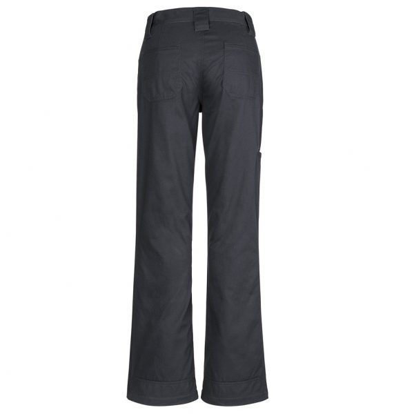 Cheap Work Boots Syzmik Ladies Pants ZWL002_Charcoal Back