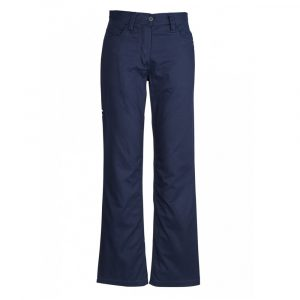 Syzmik ZWL002 Ladies Plain Utility PantsCheap Work Boots Syzmik Ladies Pants ZWL002_Navy