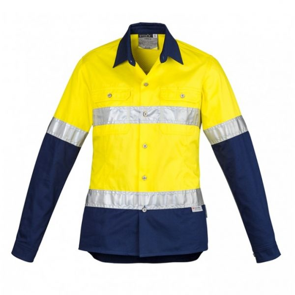 Cheap Work Boots Syzmik Ladies Shirt ZWL123_Yellow Navy