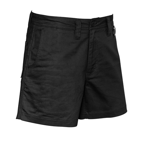 cheap work boots Syzmik Shorts ZS506_Black_Front
