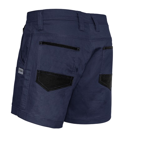 cheap work boots Syzmik Shorts ZS506_Navy_Back