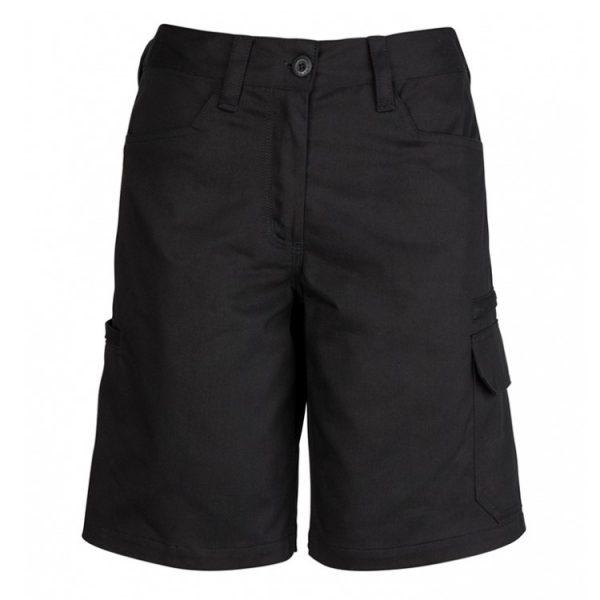 Cheap Work Boots Syzmik Shorts ZWL011_Black