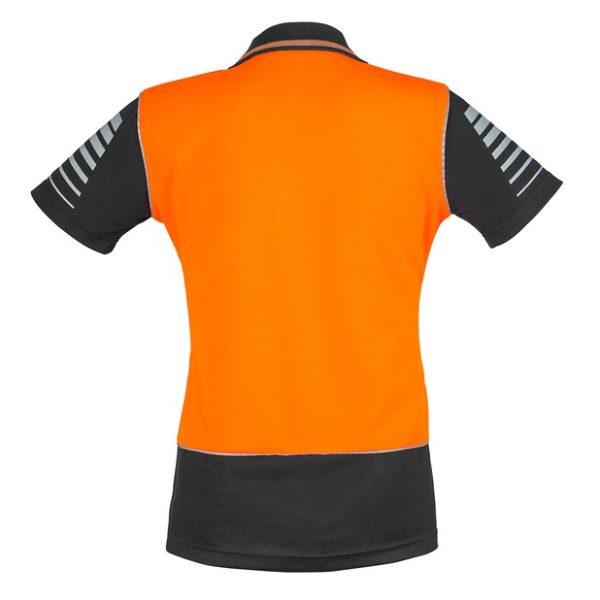 cheap work boots Syzmik ZHL236 Orange Black Back