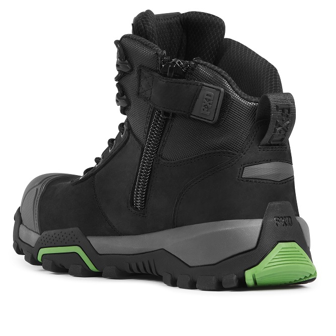 FXD FXWB 2 4.5 Zip Side Mid Height Safety Boot