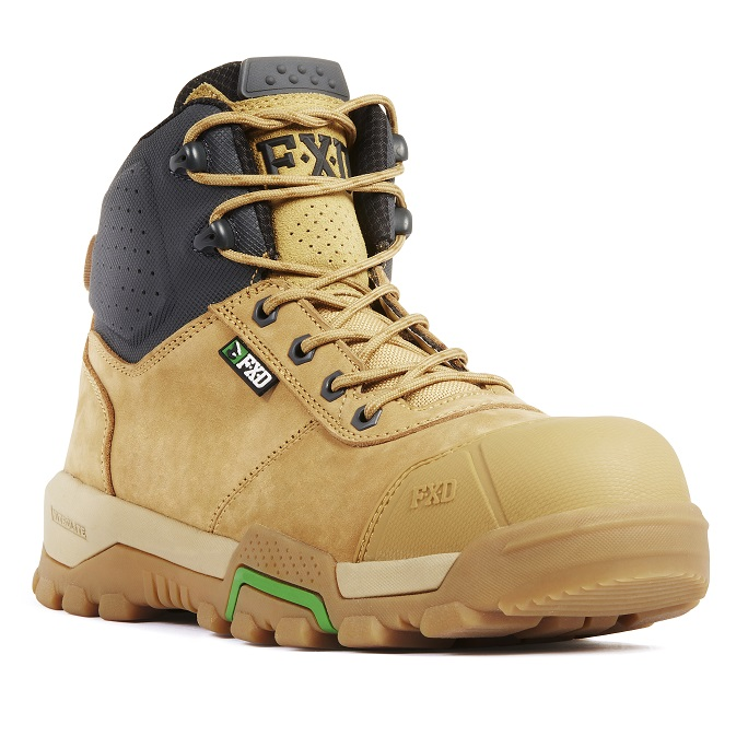 8d610ea831f FXD FXWB-2 4.5 Zip Side Mid Height Safety Boot