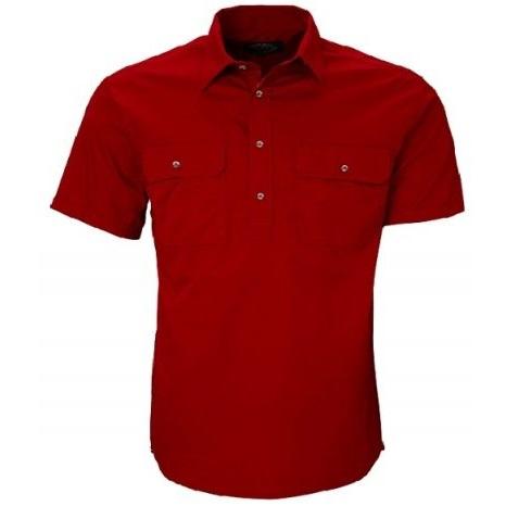 Cheap Work Boots Pilbara Shirt RM200CFS Red