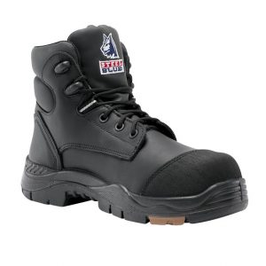 Steel Blue 617512 Canberra Safety Boot Black