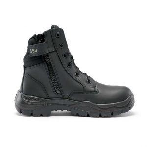 Steel Blue Leader 320550 Unisex Non Safety Boots Black