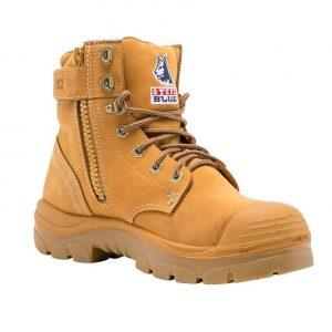 Steel Blue Argyle Zip Bump 332152 Safety Boots