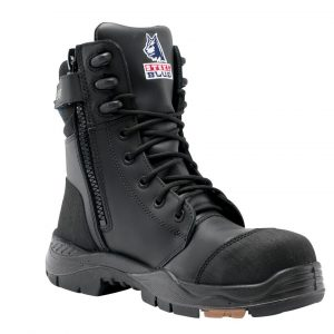 Steel Blue Tindal 617561 Black TPU High Leg Safety Boot