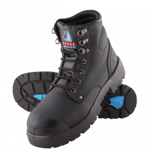 Steel Blue Argyle TPU Bump 332102 Safety Boots Lace Up
