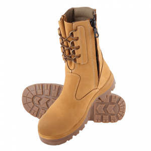 Steel Blue  Collie 322099 Wheat Nitrile High Leg Safety Boot