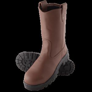 Steel Blue Heeler 322315 Redwood Nitrile High Leg Safety Boot