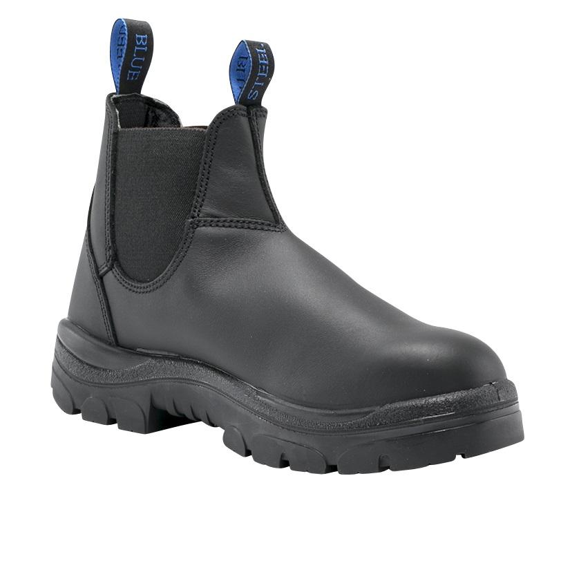 Steel Blue Hobart Nitrile 322101 Black